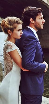 Costume sur mesure mariage