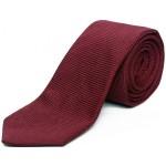 cravate-en-grenadine-de-soie-bordeaux
