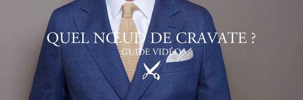 Il existe de nombreuses façons de nouer un nœud de cravate. Mais comment savoir quel nœud réaliser ? Artling Paris vous livre le secret.